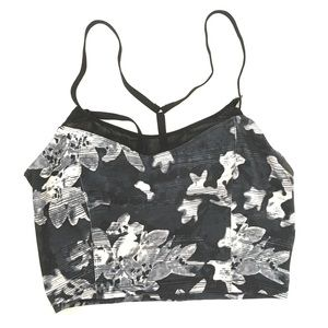 Old Navy | Active Floral Go Dry Gym Fitness AA114